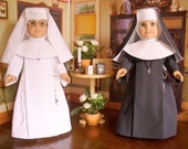Doll Clothes Pattern, Little Sisters of the Heart, No 1011