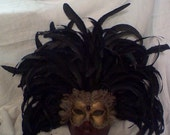 Venetian Feathered Masque