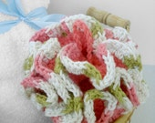 Hand Crochet Bath Poof or Puff