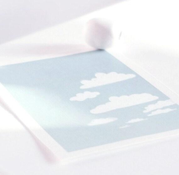 Cumulus Cloud  4x6 Print