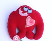 Lovestruck Monster -  Recycled Cashmere
