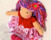 Reserved for Tegan, Waldorf Doll, Sunrise, luvkin, 15 inch - first payment