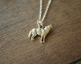 Howl - A Sterling Silver Wolf Necklace
