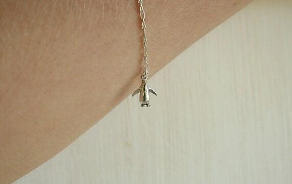 The Sterling Silver Penguin Bracelet