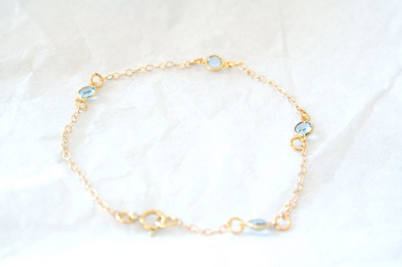 CUSTOM - A Dream Bracelet -On 14K Gold Filled Chain