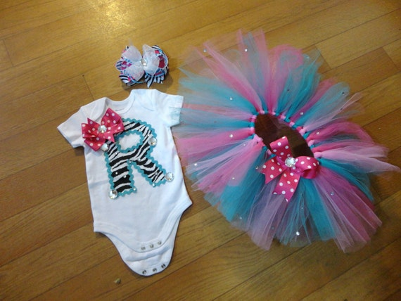 Personalized onsie and tutu set