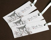Thank You, You're Sweet Tags Set of 6 - Owl