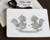 Glad to Have You by My Side Notecards Set of 5
