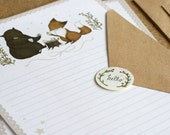 12 Mini Woodland Letter Writing Set - Best Friends Forever and Ever