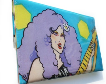 The Misfits Purse - Stormer from Jem and The Holograms - Vintage Book Page in Vinyl