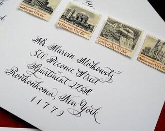 Wedding Calligraphy--Flourished Veronica Font