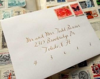 Wedding Calligraphy--Hiatus Font