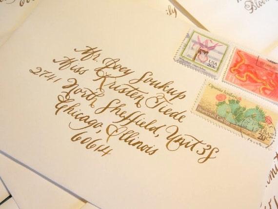 Custom Calligraphy--Burgues Font
