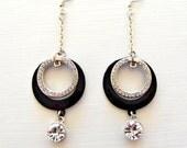Saturday Diamond Circle Earrings