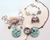 Nautical Beach Necklace and Bracelet Collection - Beach Wedding