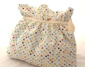 Mini Polka Dot Tote Bag