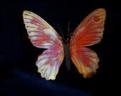 Pendant HUGE Fantasy FAIRY  Butterfly copper  bo ho hippy FAery