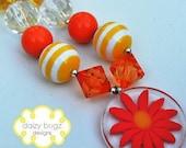 Sunshine Day Children's Chunky Bubblegum Bead Necklace