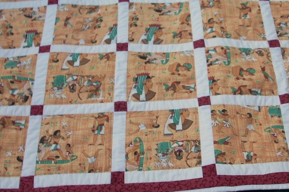 Egyptian Queen  56 x56 Quilt