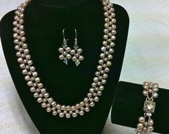 pink pearl set KIT