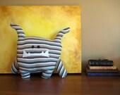 Thomas - Stripey Plush Monster