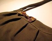 Army Owl Purse - Rae's Buttercup Bag