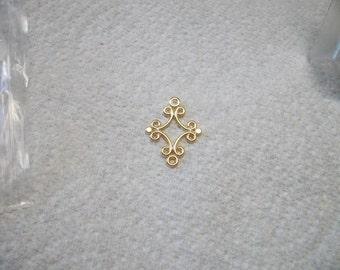 fancy diamond links