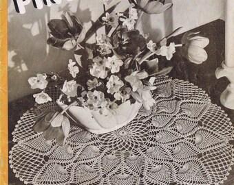EBook Vintage Doily Crochet Patterns, c. 1946