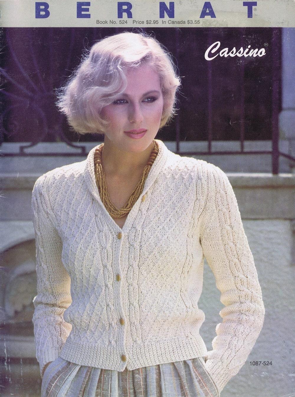 Vintage Knitting Books : Original vintage knitting book by bernat s women