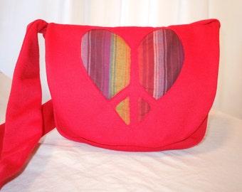 Valentines Gift Sweatshirt Bag