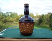 Brown Vintage Retro Liquor Decanter