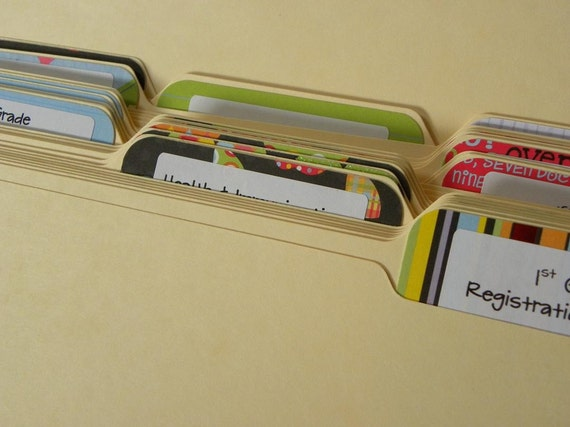 Too Cool For School File Folder System No.2