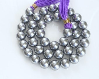20pcs 10mm  Gray color shell pearls (10mm),