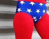 Wonder Woman Roller Derby Shorts