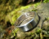 Personalization Only -- Ring NOT INCLUDED Your Special Message Stamped in or on a ring purchased from TSO Jewelry