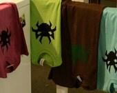 Crabcat Wearable Art T-shirt Explosion