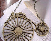 new collectionn bycycle pendant 24 inches necklace chain with gift box