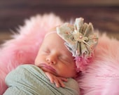 "Baby Pink Fur Rug - Great Photography Prop - Measures 20""x20"""