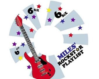 Rock Star - CD Label