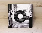 DIY printable Retro Vintage Record Wedding Invitation
