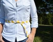 Skinny Belt in Sunshine Palette