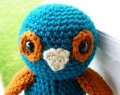 Ollie the Owl Crocheted Toy