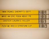 Twin Peaks Pencils (8 pcs)