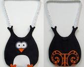 Purple Owl Bag