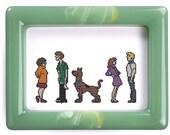 Scooby Doo Shaggy Velma Daphne Fred cross stitch pattern .pdf