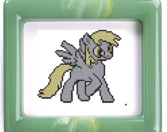 cross stitch pattern My Little Pony Friendship Is Magic: Derpy Hooves inspired .pdf