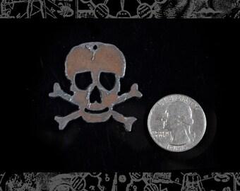 Skull and Crossbones Pendant  XXX *I-P12