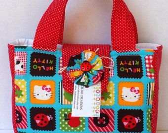 Mini Tote Bag For Her - Hello Kitty