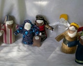 Nativity - make your own - pdf epattern