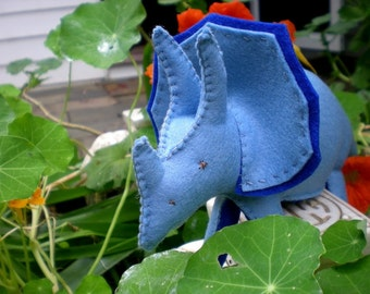 Triceratops - sewing epattern